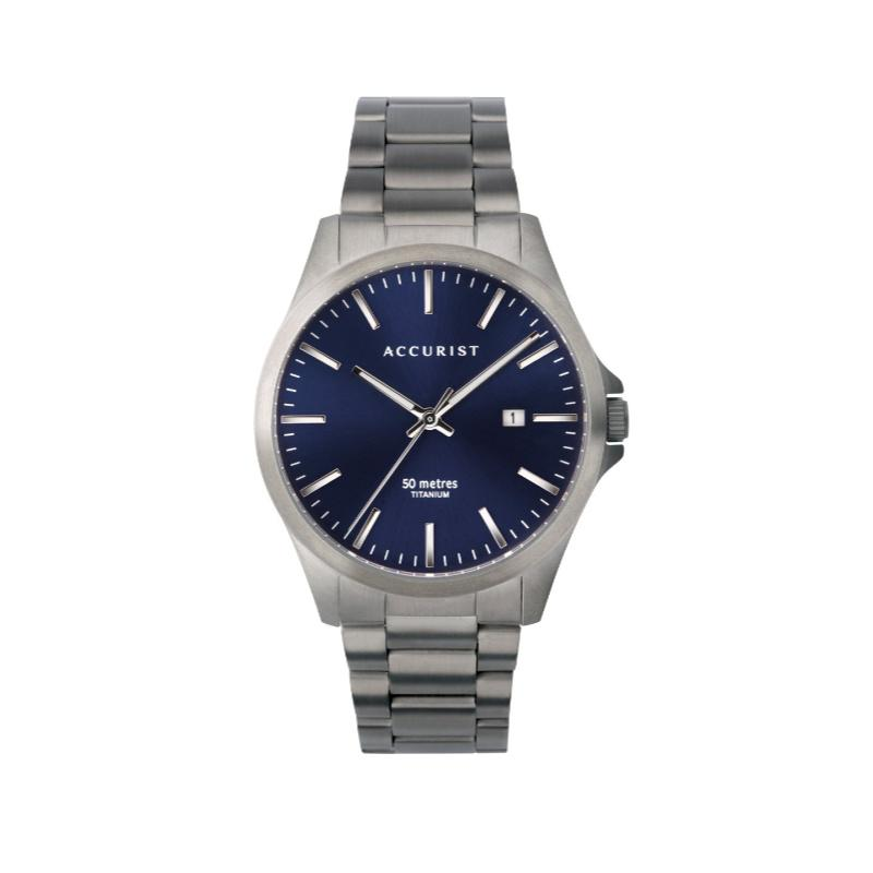 Accurist Men's Titanium Watch 7309 Watches ACCURIST