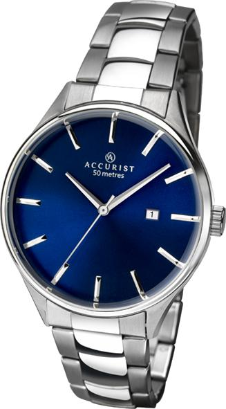 Accurist Men's Watch with Blue Dial 7111