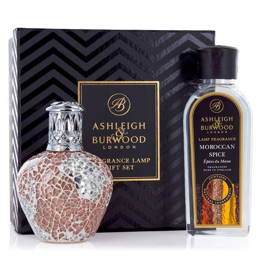 Ashleigh & Burwood Apricot Shimmer Fragrance Lamp Gift Set Gifts Ashleigh & Burwood