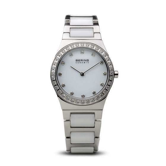 Bering-Ladies-Ceramic-Watch-White-with-CZ-32430-754-Jools-Jewellery
