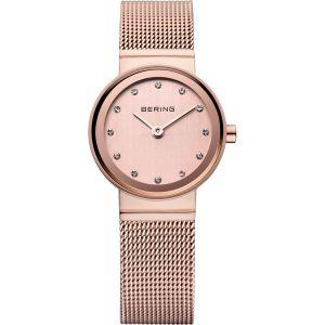 Rose Gold Bering Ladies Watch 10122-366