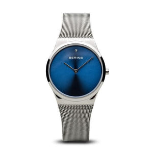 Ladies Bering Watch with Blue Dial 12130-007