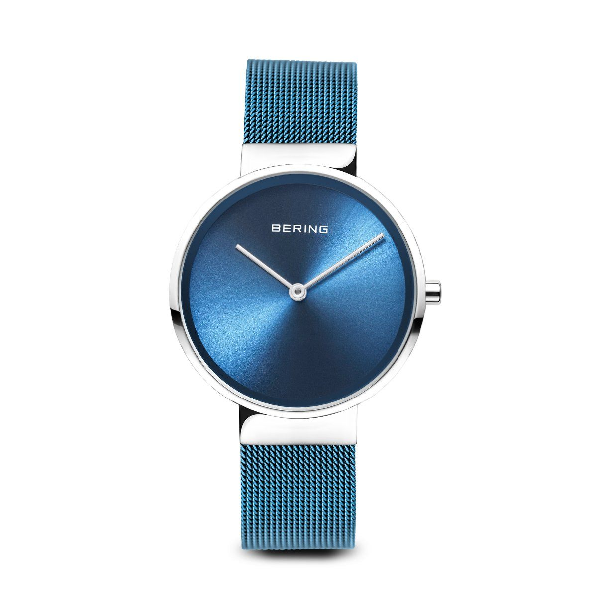 Ladies Berings Watch with Blue Milanese Strap 14531-308