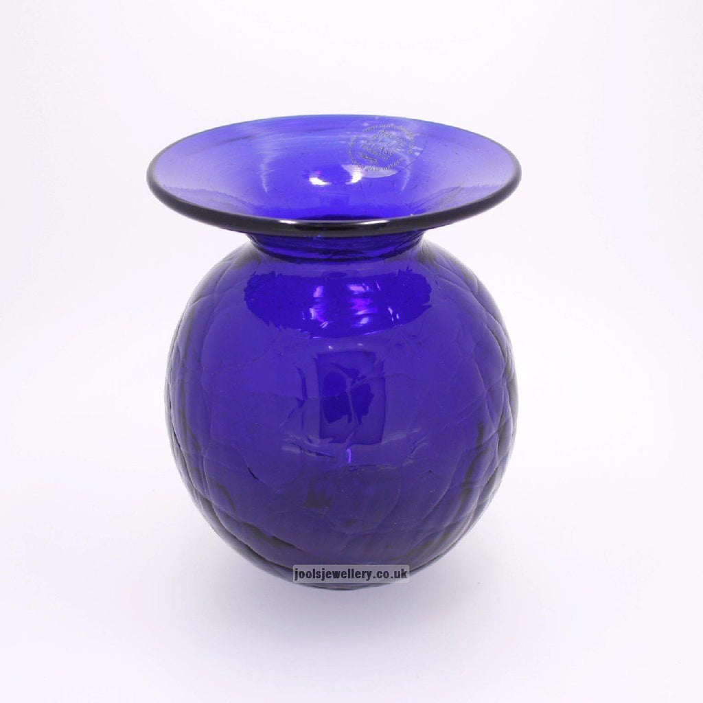 Bristol Blue Glass 10cm Vase