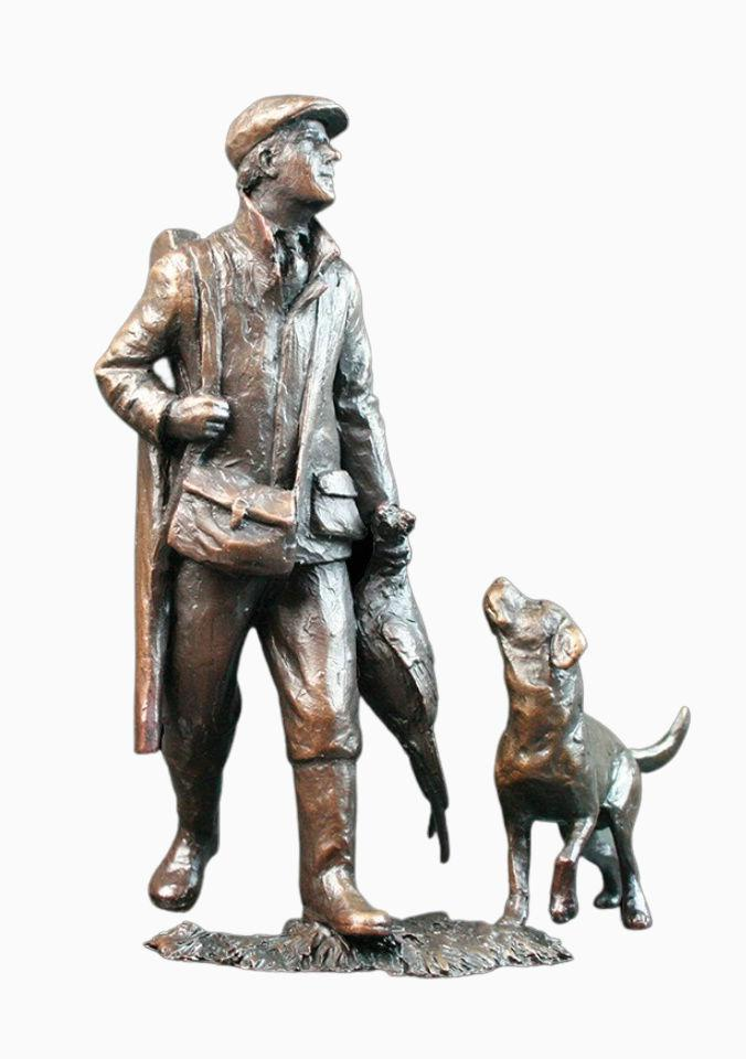 'The End of The Day' Bronze Sculpture Gifts Richard Cooper & Co