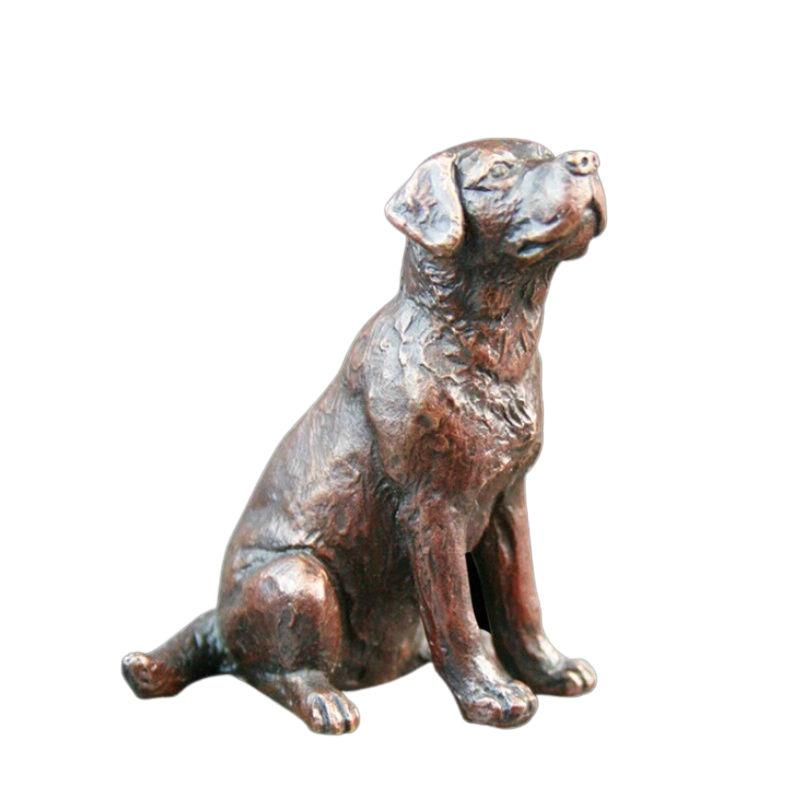 Bronze Labrador Sitting Limited Edition Sculpture Gifts Richard Cooper & Co