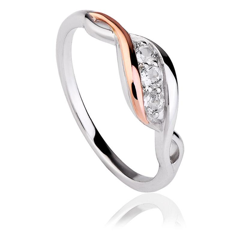 Clogau Past Present Furture Ring 3SPPFR Jewellery Clogau J
