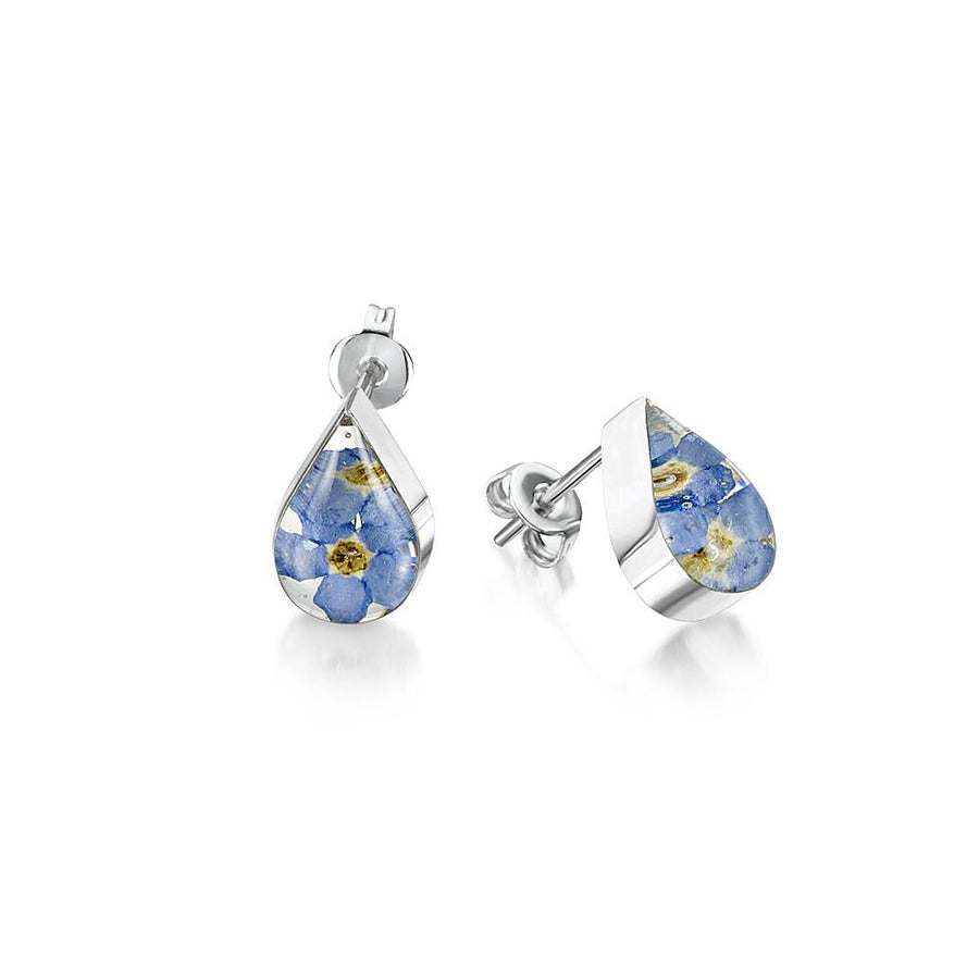 Flower Jewellery Forget Me Not Studs