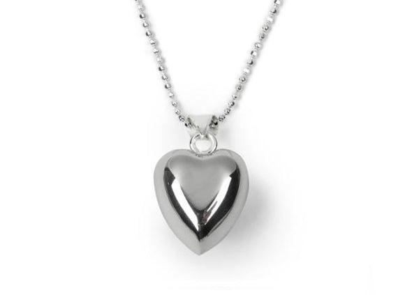 Girls Chiming Heart Necklace