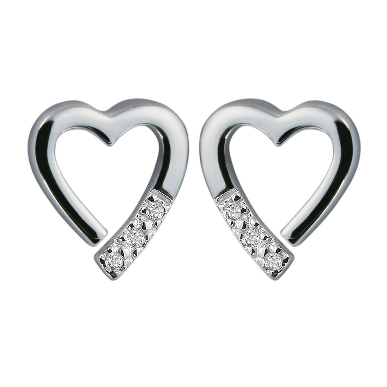 Hot Diamonds Memories Earrings with Diamond Jewellery Hot Diamonds