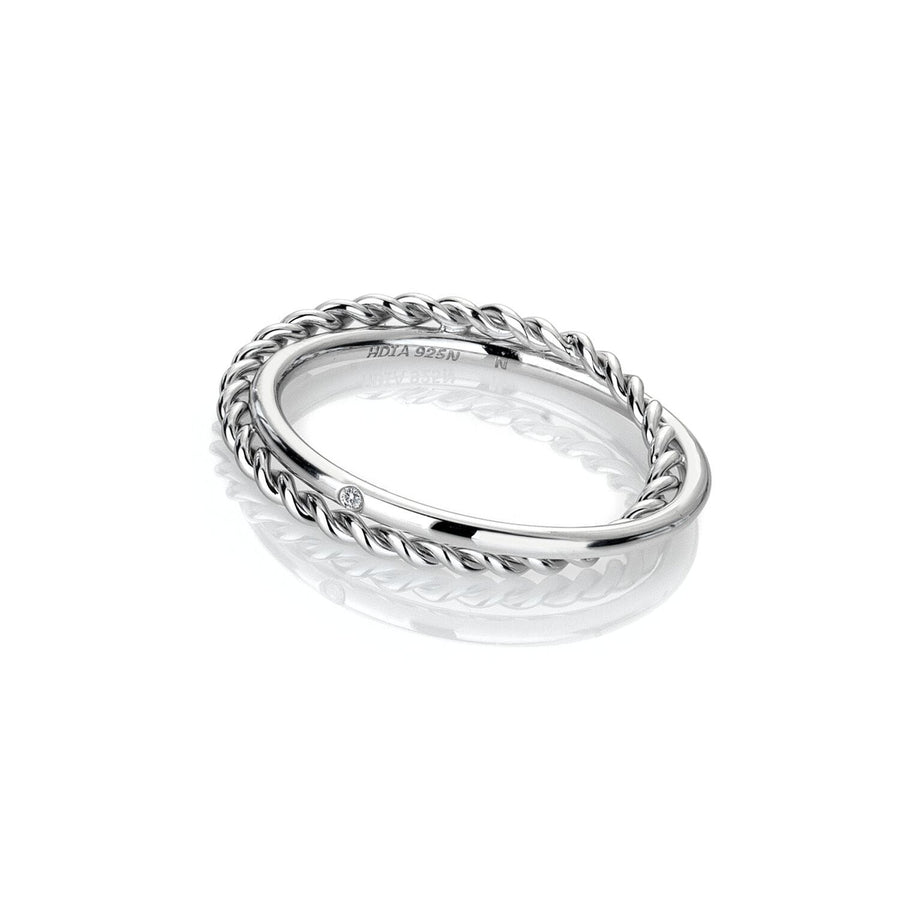 Hot Diamonds Unity Ring