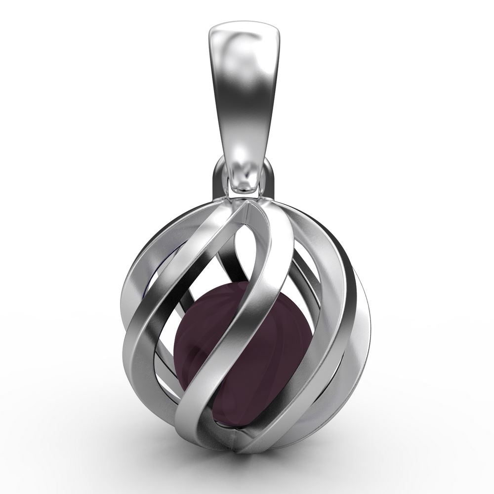 Sphere of Life January Birthstone Pendant Jewellery JoolsJewellery.co.uk