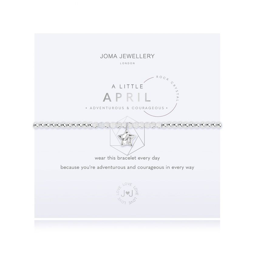 A Little April Birthday Bracelet Jewellery Joma Jewellery