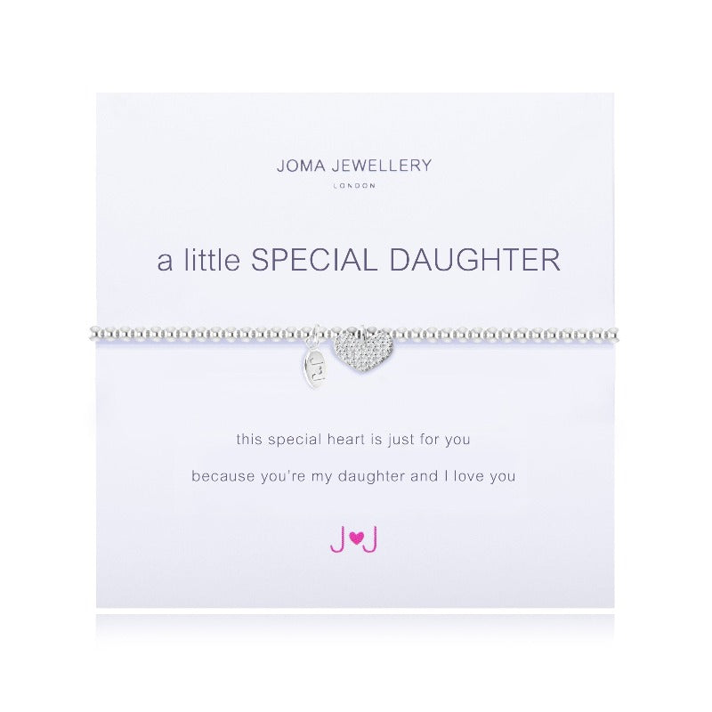Joma Jewellery 1663 'A Little Special Daughter' Bracelet Jewellery Joma Jewellery