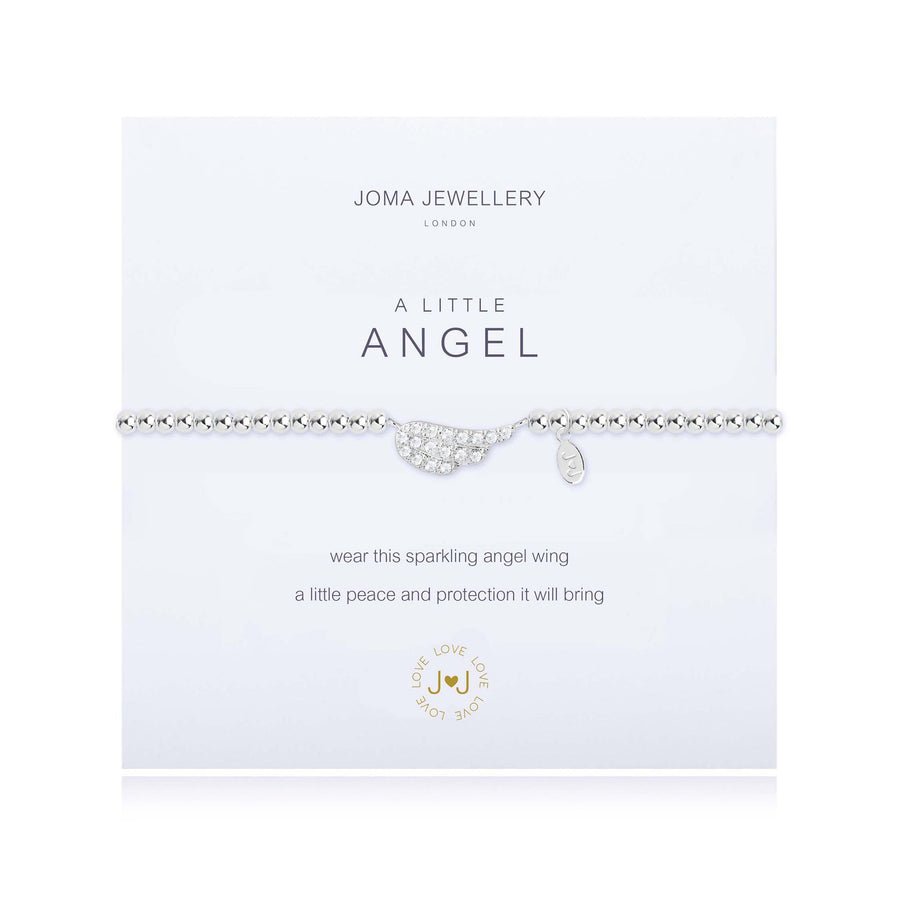 Joma Jewellery 1819 'A Little Angel' Bracelet