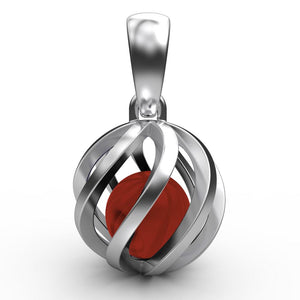 Sphere of Life July Birthstone Pendant Jewellery Sphere of Life