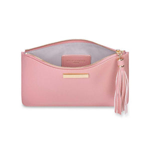 Katie Loxton Tassel Pouch in Pink Gifts Katie Loxton