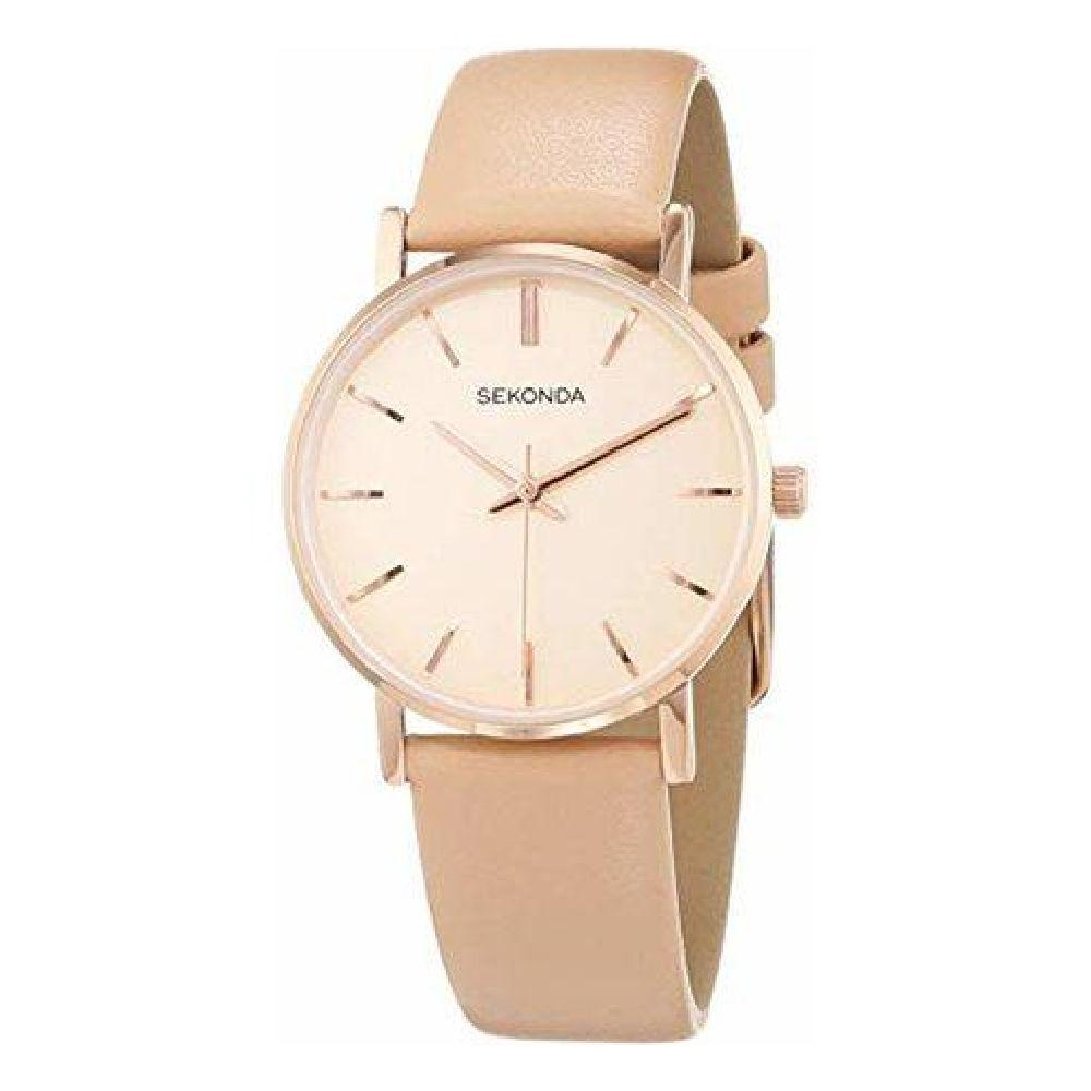 Sekonda ladies watch with gold dial