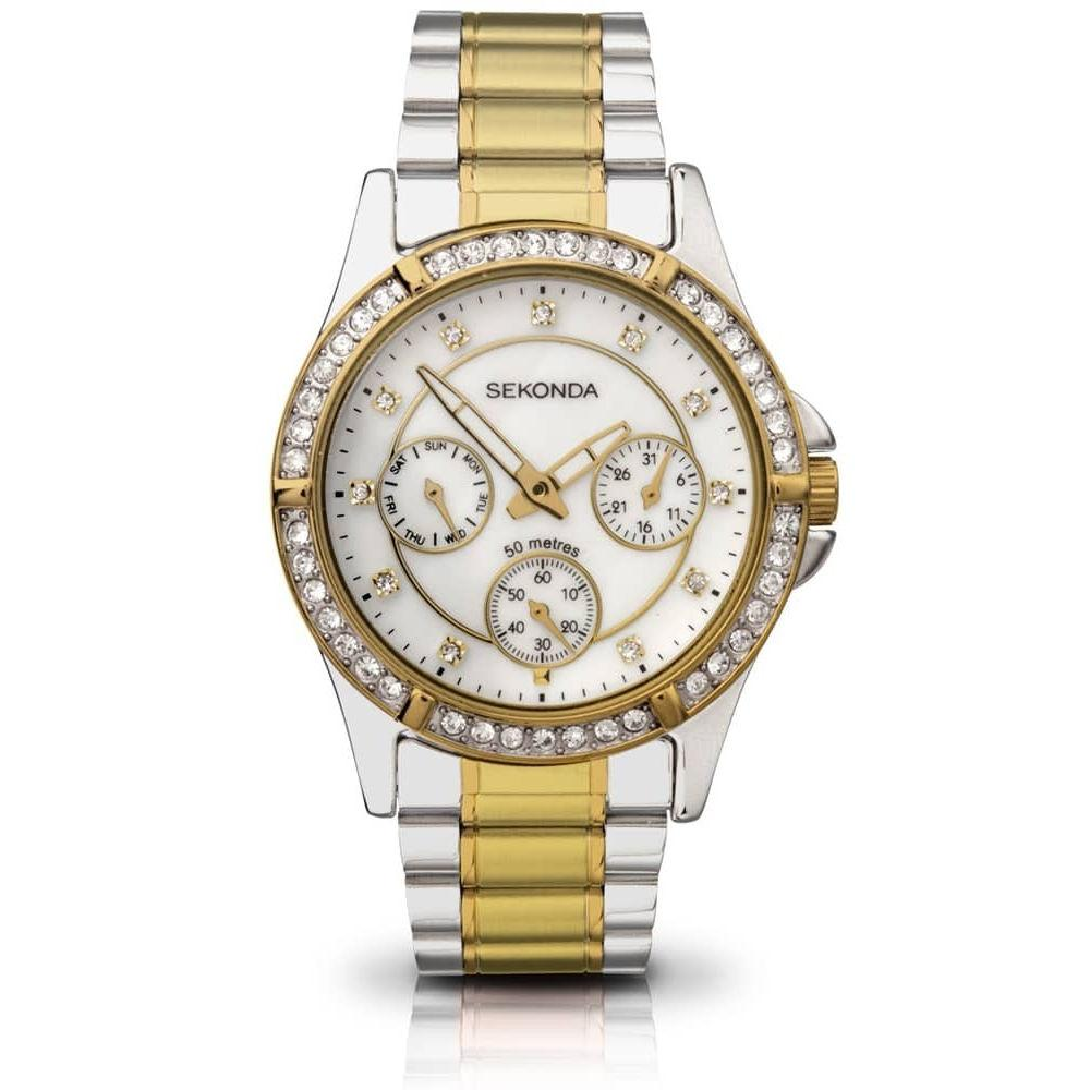 Ladies Two-Tone Sekonda Watch 4112 Watches Sekonda