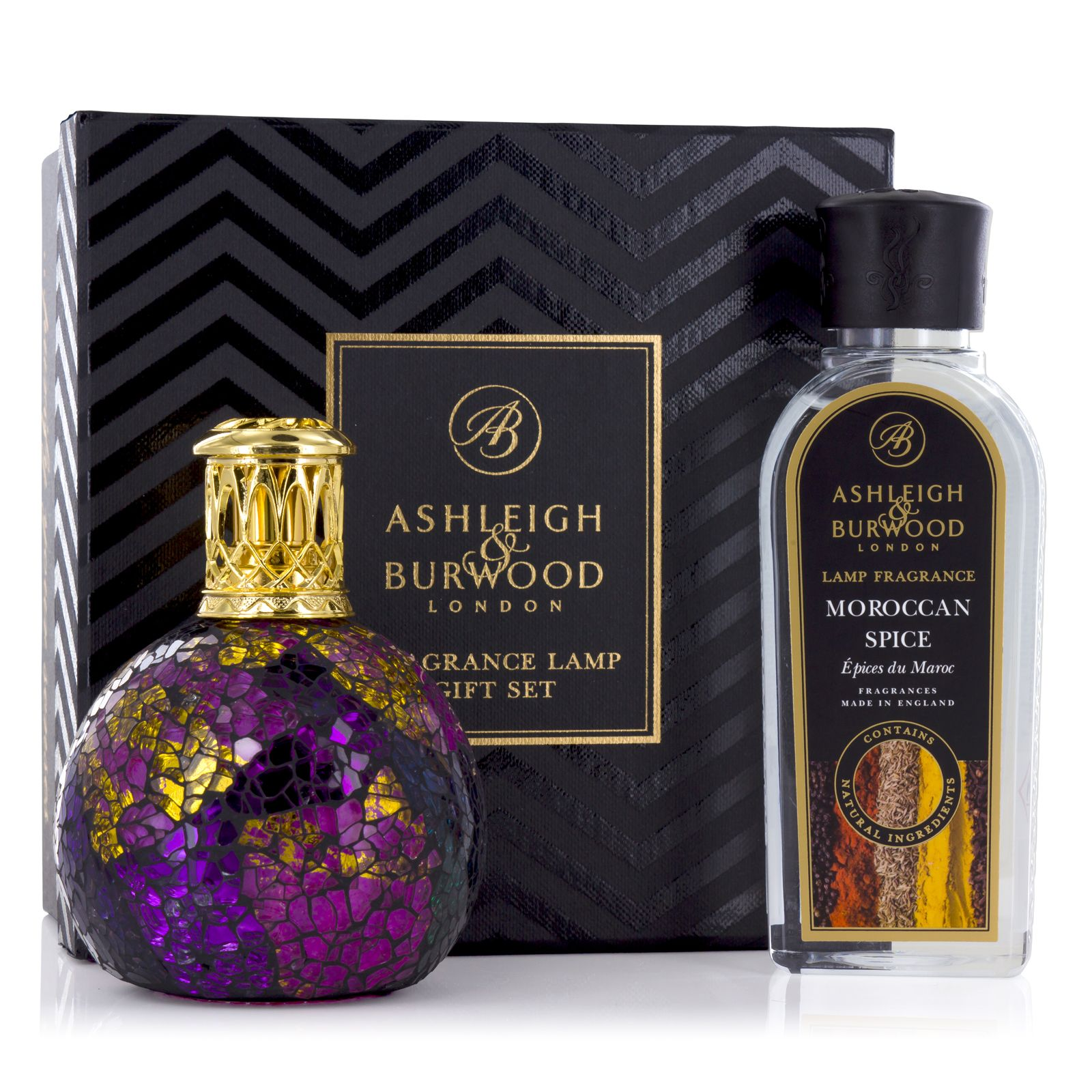 Ashleigh & Burwood Magenta Crush Fragrance Lamp Gift Set Gifts Ashleigh & Burwood
