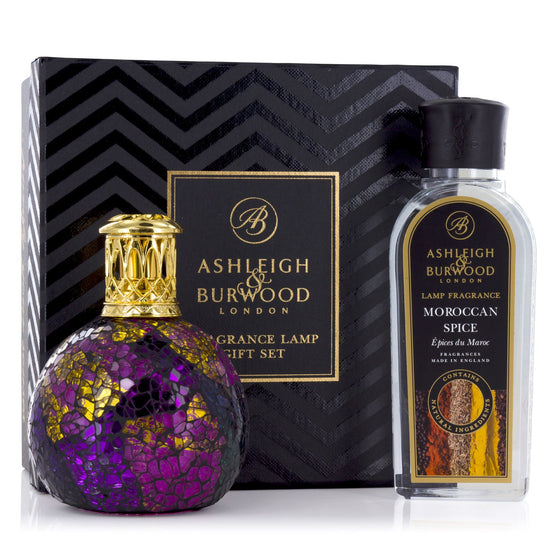 Ashleigh & Burwood Magenta Crush Fragrance Lamp Gift Set