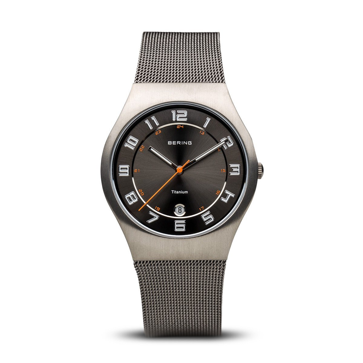 Men's Bering Titanium Watch 11937-007 Watches Bering