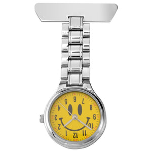 Sekonda Fob Watch with Smiley Face