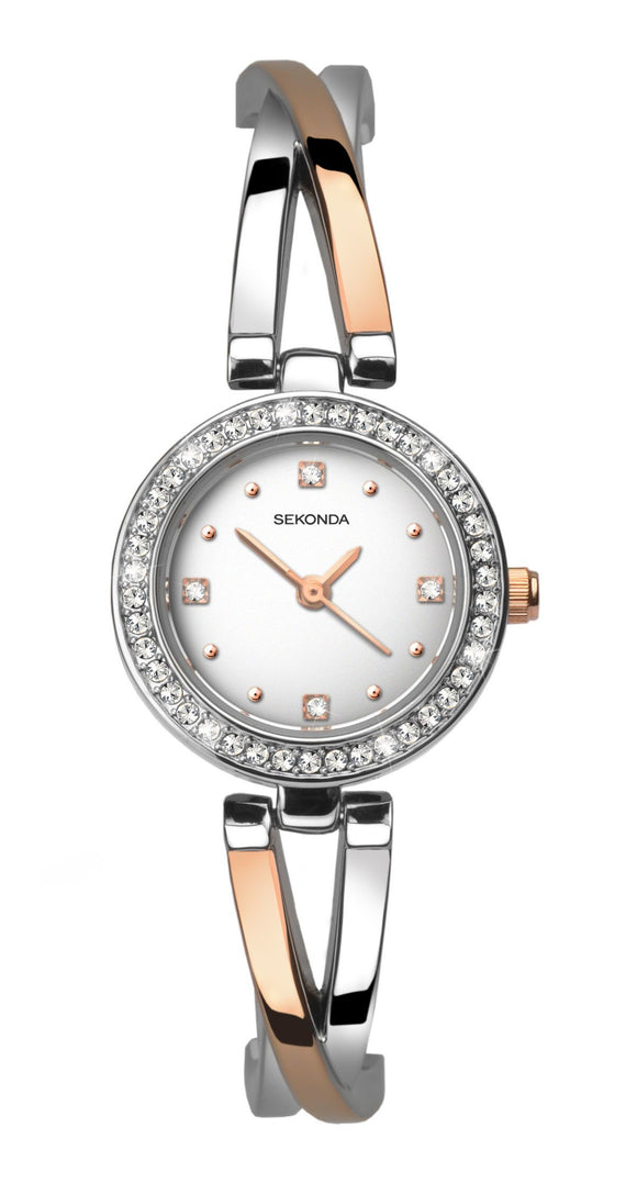 Two-Tone Sekonda Ladies Watch 2538