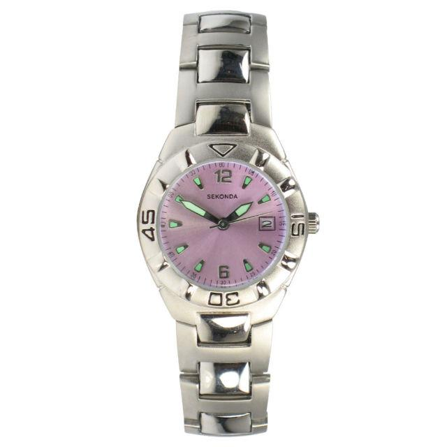 Sekonda Ladies Watch with Pink Dial 4700
