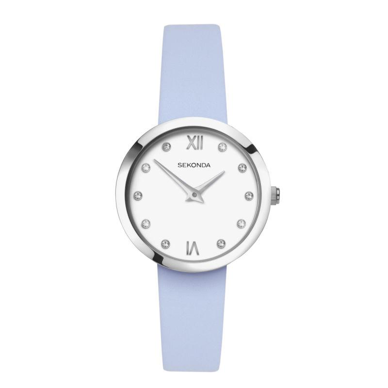 Ladies Sekonda Watch 2761 with Blue Strap Watches Sekonda