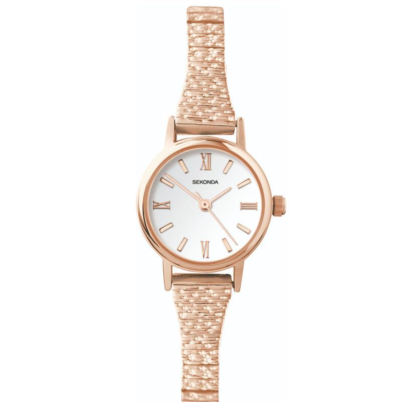 Ladies Sekonda Watch 2870 with Expanding Strap Watches Sekonda