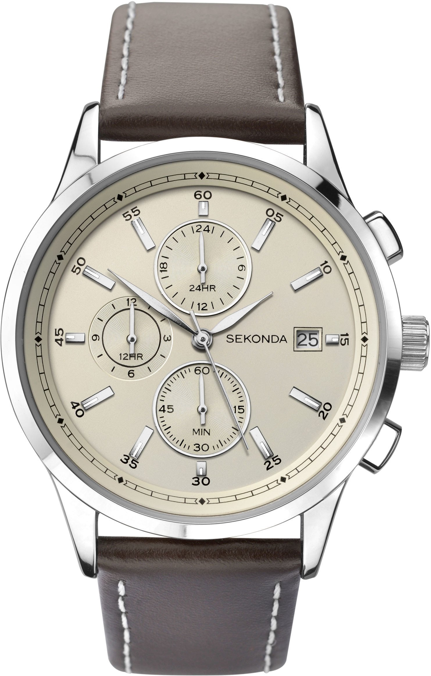 Sekonda Men's Chronograph Watch 1394 Watches Sekonda