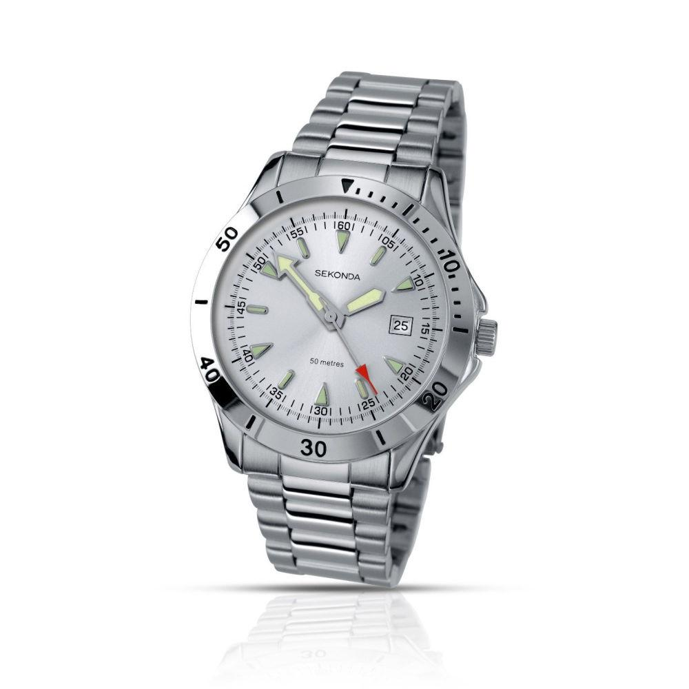 Men's Sekonda Watch with luminous hands 3278 Watches sekonda