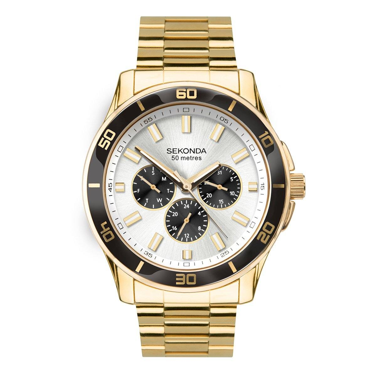 Men's Sekonda Chronograph Watch 1646 Watches Sekonda