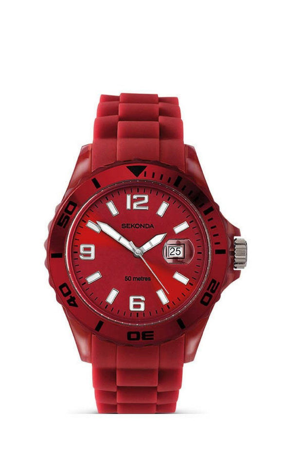 Sekonda Red Party Time Unisex Watch 3365