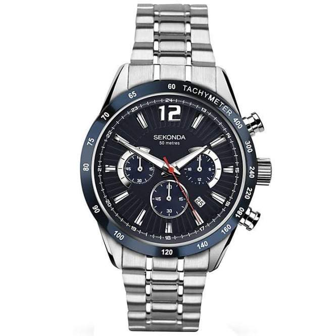 Men's Sekonda Chronograph Watch 1226 Watches Sekonda