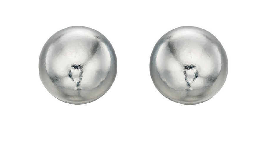 Silver round ball studs 4 mm diameter