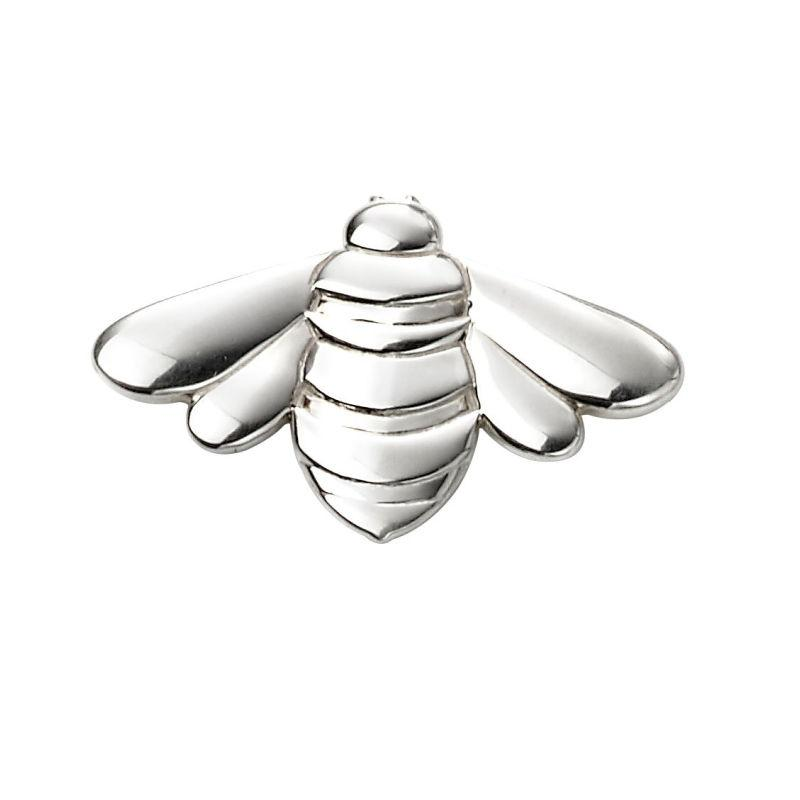 Silver Bee Brooch Jewellery Carathea