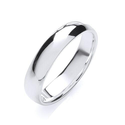 Mens Silver 5 mm Wedding Band Jewellery JoolsJewellery.co.uk v