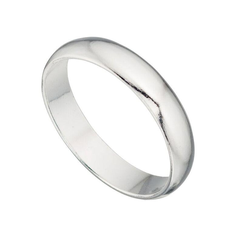 4mm Silver Ring