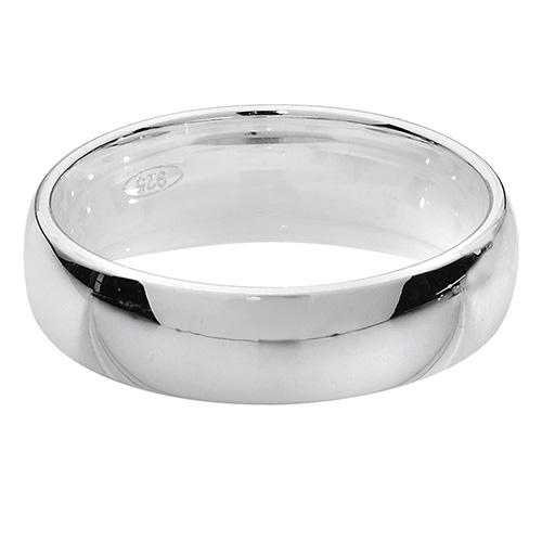 Silver Traditional Court Wedding Band Ring for Men Jewellery Treasure House Limited M