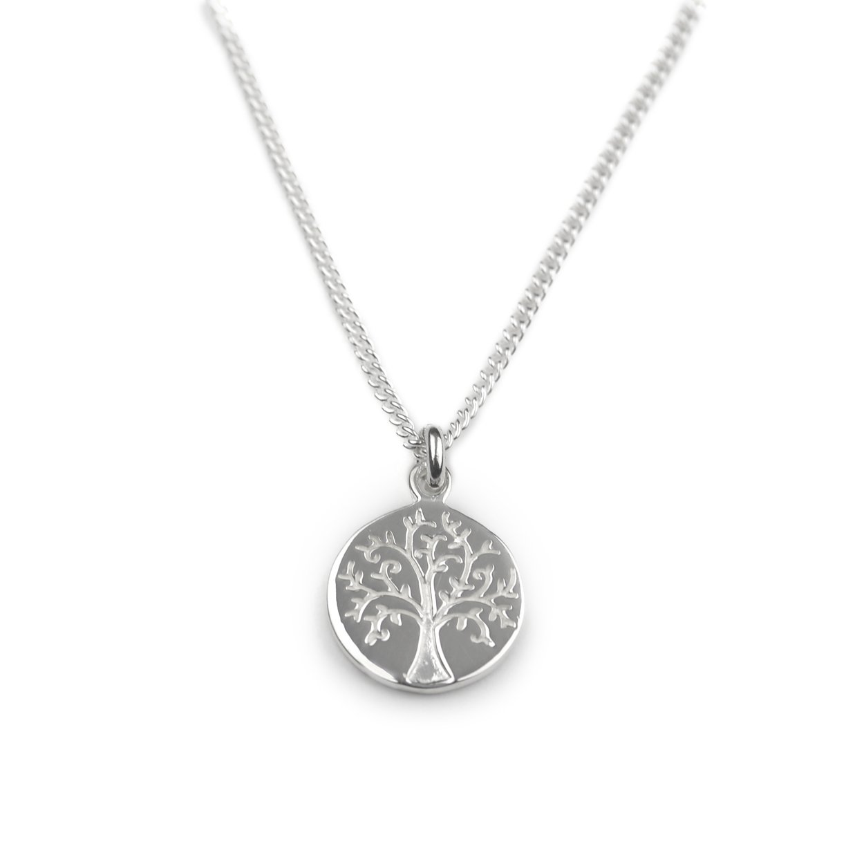 Silver Tree of Life Pendant Jewellery Tales From The Earth