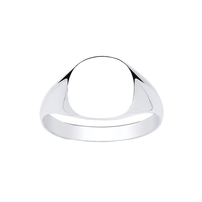 Men's Cushion Signet Ring Jewellery Ian Dunford T