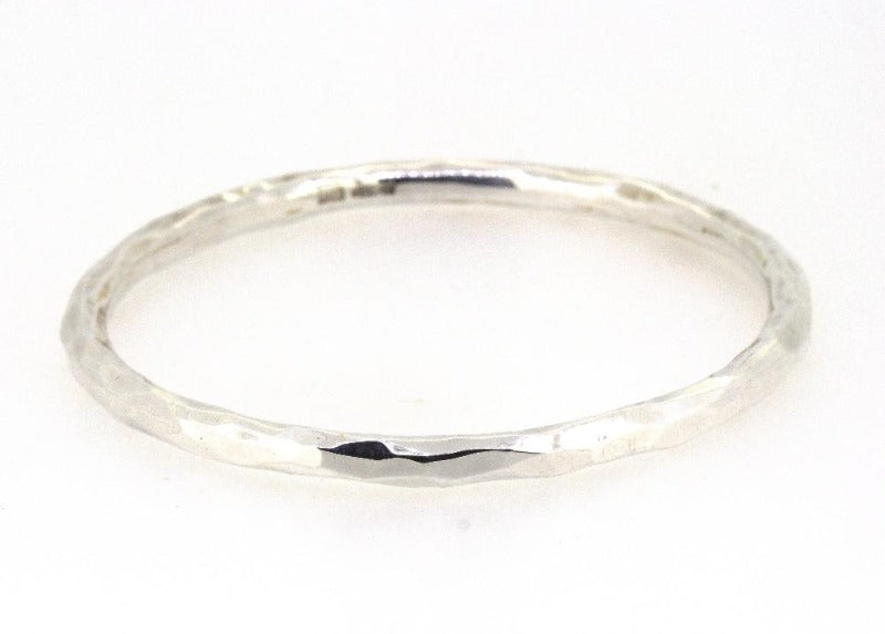 Solid Silver Hand-Crafted Fairy Bangle Jewellery John Garland-Taylor 3.5 mm