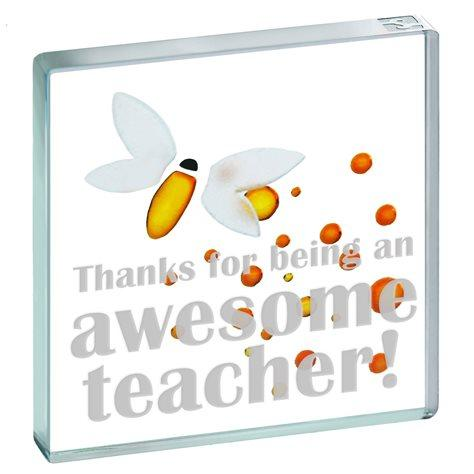 Spaceform 'Thanks for being an Awesome Teacher' Miniature Token