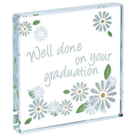 Spaceform 'Well done on your Graduation' Miniature Token