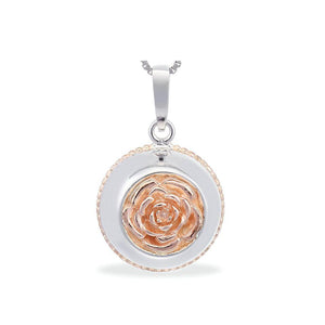 Sphere of Life English Rose Pendant