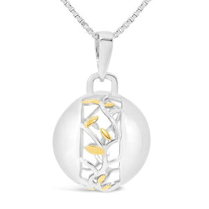 Sphere of Life Family Branches Pendant (Yellow Gold)