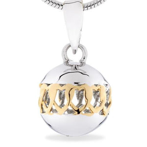 Sphere of Life Friendship Pendant in Silver & Yellow Gold Jewellery Sphere of Life