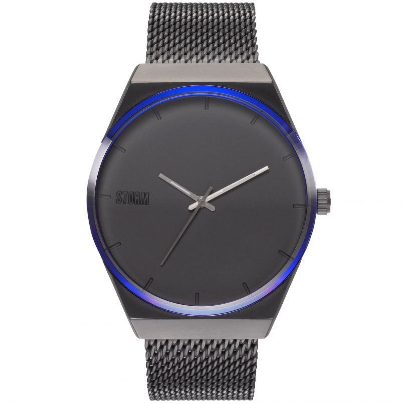 Storm Cirero Men's Watch in Slate with Lazer Blue Watches Storm London